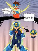 Megaman Battle Network tg by undeadpenguin37