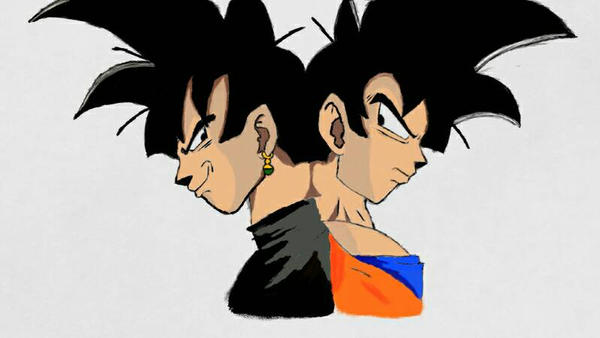 goku vs Black (Wip) by RealCaution