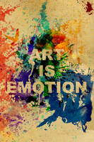 Art Is Emotion by collapsedtoashes