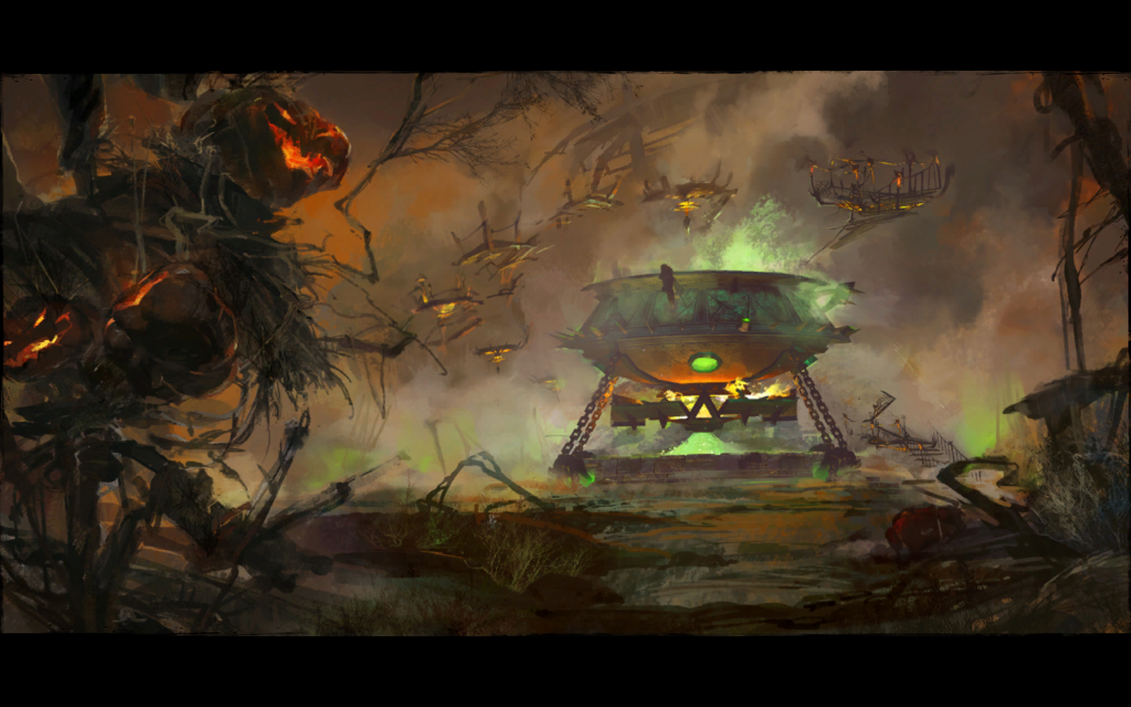 lions arch halloween 2014 loading screen by