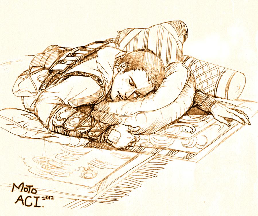 Sleep by moto0207