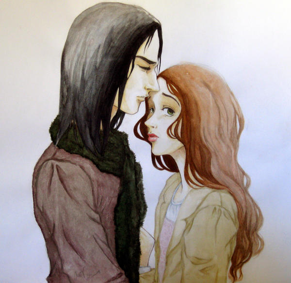 Severus and Lily by irisclaymore