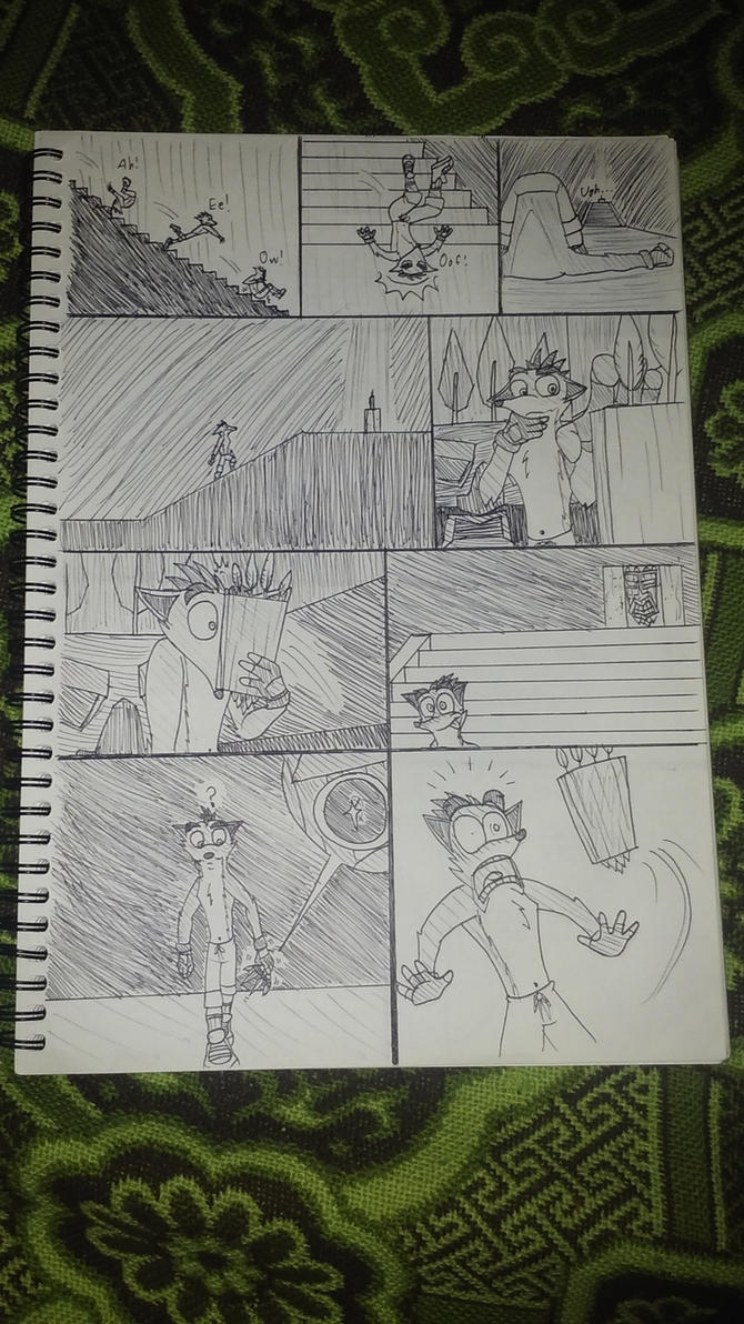 Crash Bandicoot - The Comic - Page 05 by Cd749