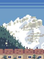 8-bit Banff by AprilSundae