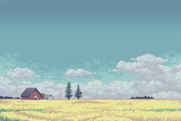 Under a Prairie Sky by AprilSundae