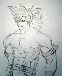 Sol Badguy Sketch