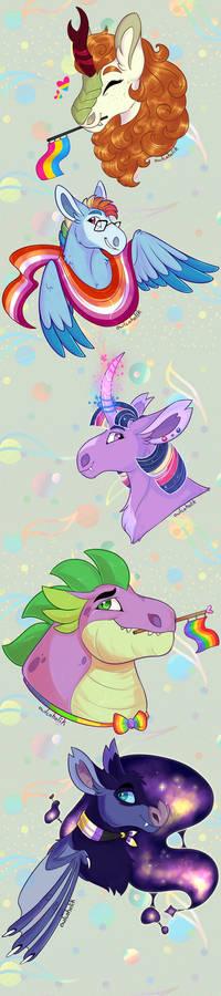 Pony Pride Parade 2021