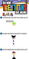 New Teen Titans Meme