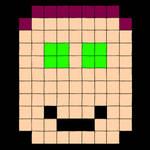 Pixel Red Star