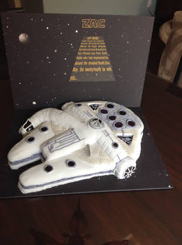 The Cake Did the Kessel Run in Less than 12parsecs