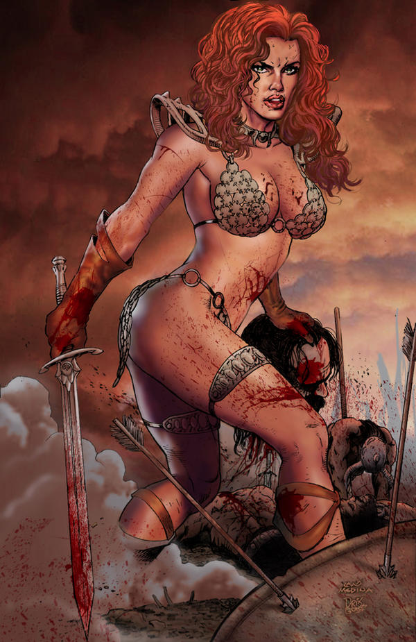 Red Sonja. by DrixArt