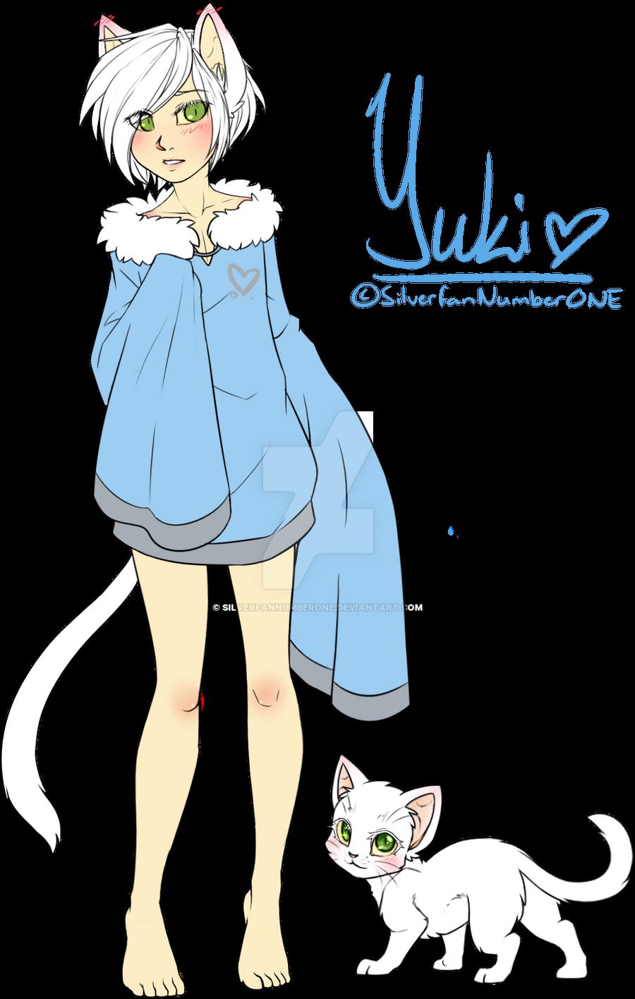 Human Neko Boy Yuki By Silverfannumberone On Deviantart