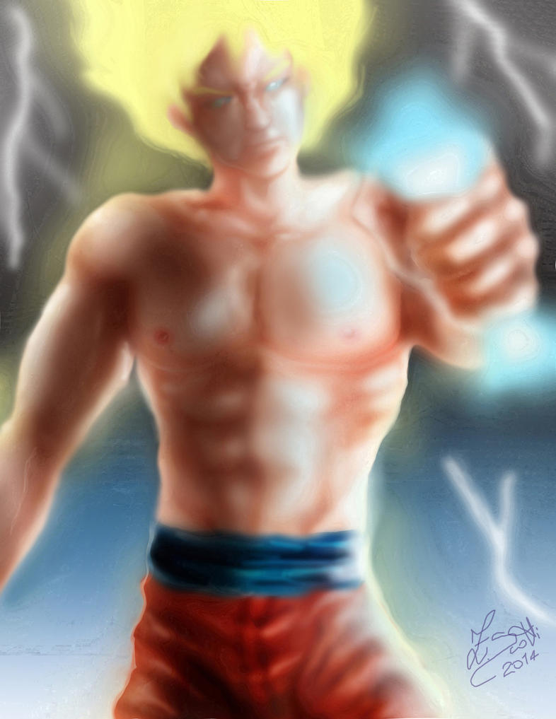 Goku 2014 by anemchan41191