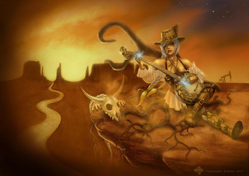 Western Sona by elfenn