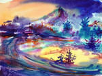 Blue Christmas by Mishelangello