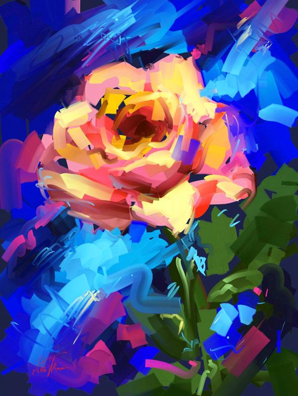 Rose by Mishelangello
