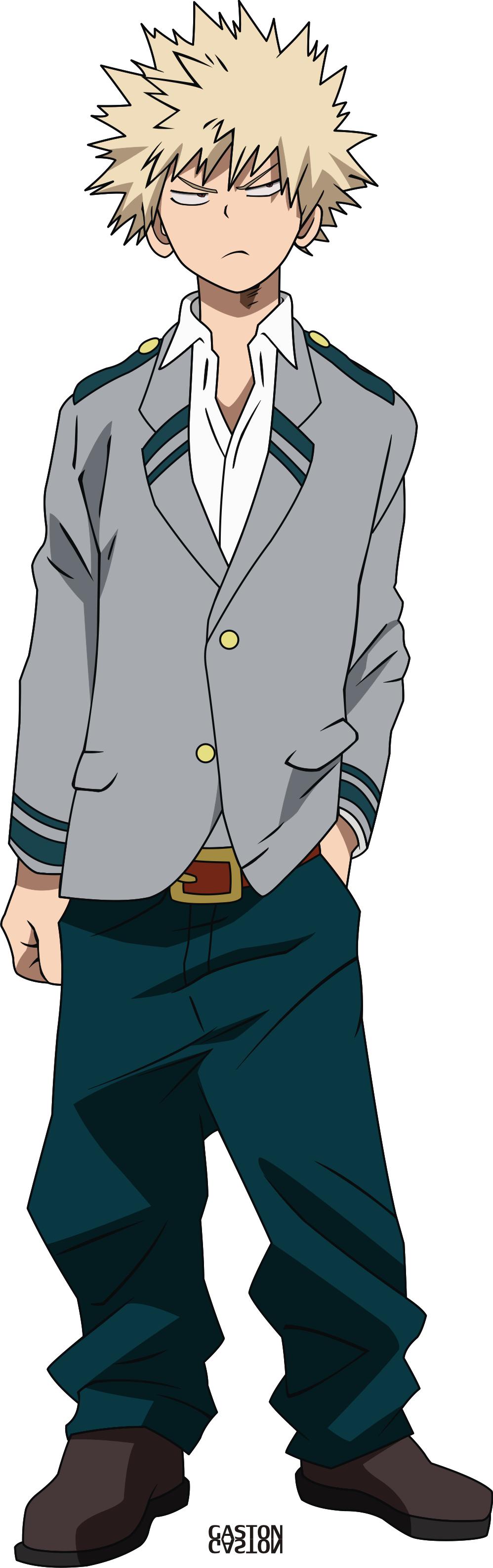 My Hero Academia - Katsuki Bakugou by gaston-gaston on ...
