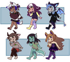 [CLOSED] Random Adopts 2  [1 point auction!] by PK-adopts