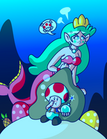 Sweet Pearly Explosive Mermaid by JamesmanTheRegenold