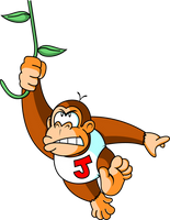 Donkey Kong JUNIOR by JamesmanTheRegenold