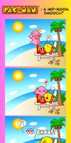 Pac-Man: A Mid-Noon Smooch?