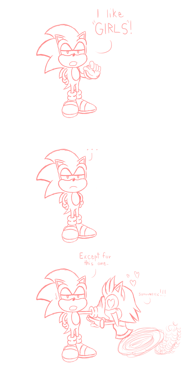 Sonic Says . . . by JamesmanTheRegenold