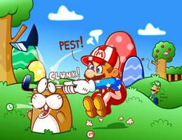 Mario: Dem No Gewd Gofaz by JamesmanTheRegenold