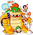 Mario 'and friends' VS Bowser