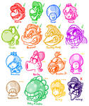 My Mario Acceptance Chart