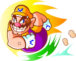 That Wario, he be Chargin' like a Chuck