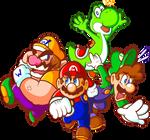 Super Mario x4