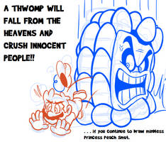 An Important Message from Mushroom Kingdom by JamesmanTheRegenold