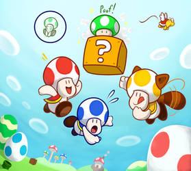 Mushroom Kingdom's Mushroom Games by JamesmanTheRegenold