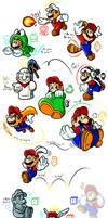 Mario's Gallery of Power-Ups (1985-1996)
