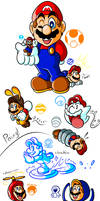 Mario's Gallery of Power-Ups (2006-2012)