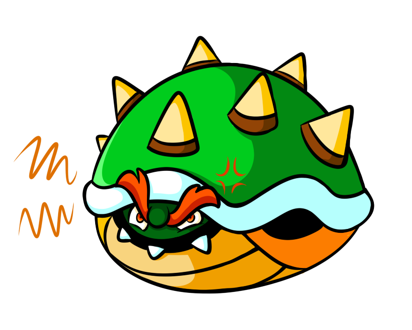 Bowser Commission - bowser in shell
