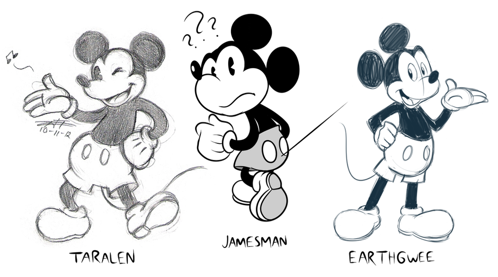 Mickey Mouse Drawing Tumblr Giftsforsubs