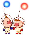 Captain Olimar and Louie