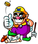 All that Glitters . . . belongs to Wario