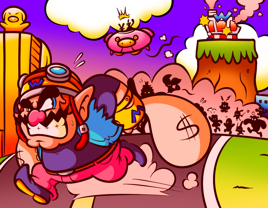 WarioWare: Pay Day by JamesmanTheRegenold