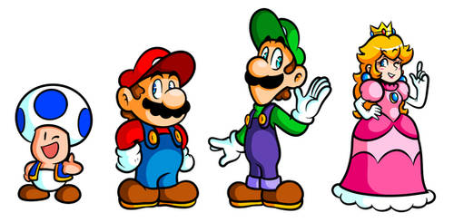 Golly Gang of Mario Misfits
