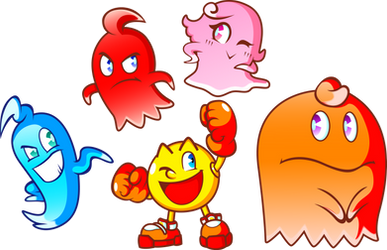 Pac-Man and the Ghost Monsters