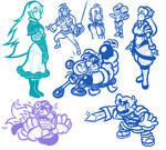 SAI Sketches - Of Babes and Brutes
