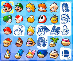 My Ideal Mario Kart 8 Roster
