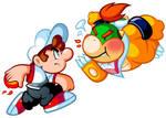 Commission - Mario Jr vs Bowser Jr