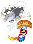 Commission - Mario vs Reznor