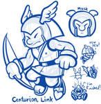 Link's New Mask Challenge - Centurion Link
