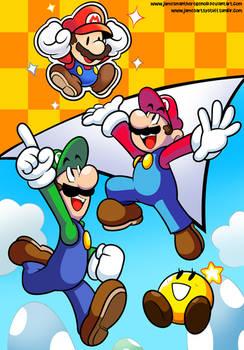 Mario and Luigi's Paper Jam