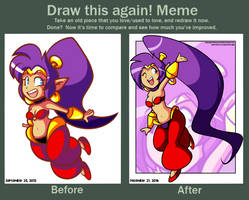 Shantae: Half Genie Hero by JamesmanTheRegenold
