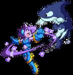 Indie Pogo Art: Lilac vs Orcane